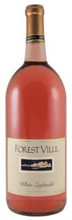 Forestville White Zinfandel 750ml - Case of 12